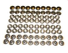 80pcs Stainless Steel Snap Set Fastener Post Stud Cap Marine Grade Snap US stock