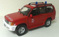 Solido Toyota Land Cruiser Feuerwehr 1:43 in OVP rar selten , Sammlungsauflös