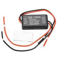 Flash Strobe Blitz Controller Blinkmodul für LED Bremslicht Rücklicht 12-24V HOT