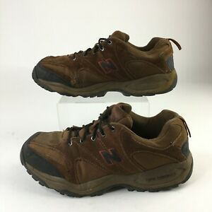New Balance 603 Trail Walking Shoes Mens 11 Brown Suede Lace Up Low Top Sneakers