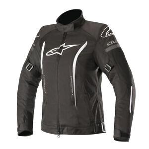 Alpinestars Stella Gunner v2 Waterproof Motorcycle Motorbike Jacket Black White