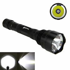 TR-T1 5000Lm XM-L2 LED Super Bright Flashlight Torch Light Tactical Hunting Lamp