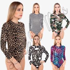 Waist Length Leopard Regular Size Tops & Shirts for Women