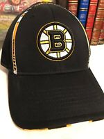 Boston Bruins  Reebok TW96Z NHL Pro Shape Flex Fit Hockey Cap Hat  L/XL