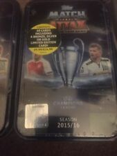 Topps Manchester City Football Trading Cards & Stickers (Match Attax Game