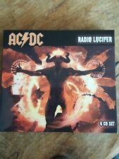 CD Box Set Ac Dc Radio Lucifer 6 6cd like new  Set See Pics