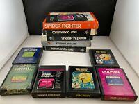 Lot of 11 Atari 2600 Video Game Cartridges-  Non-working Parts/Repair - Some CIB