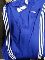 adidas Men's Essentials 3-Stripes Woven Windbreaker Jacket Size XL MSRP $50
