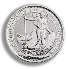 2020 1oz Silver Britannia Bullion Coin unc: