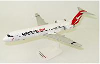 Qantas Link Fokker 100 Plastic Model Aircraft 1:100 scale