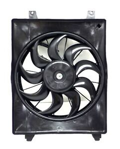 CF2014490 Radiator Cooling Fan Assembly LH Driver Side 2007-12 Hyundai Veracruz