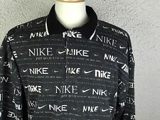 Vtg Nike Black Graphic Swoosh Creative Life Shirt Usa Sbd