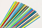 ABS plastic welding rods MIX 7 variations triangle and flat shape 10 pieces