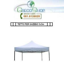 Tetto/Copertura per Gazebo 3x3m Bianco