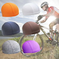 Unisex Skull Cap Quick Dry Sports Sweat Beanie Hat Great Cycling Dome Cap New~