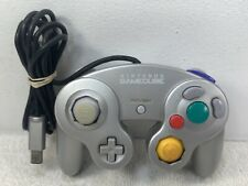 Official Nintendo Game Cube Controller DOL-003 Silver Tested
