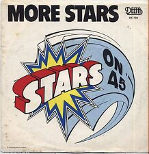 "STARS ON 45 - More stars VINYL 7"" 45 LP ITALY 1981 NEAR  MINT COVER VG CONDITION"