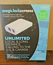 MagicJack EXPRESS - 3 Months of Service Local & Long Distance Calling: US/Canada