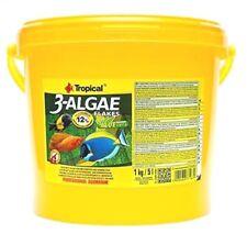 Tropical 3-Algae Flakes 5000 ml Fischfutter Spirulina  (7,78 €/1000 ml)