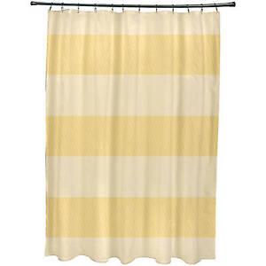 "Simply Daisy 71"" x 74"" Windward Stripes Print Shower Curtain"