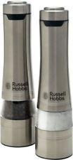 Russell Hobbs Stainless Steel Salt & Pepper Dinnerware