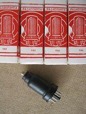 4x 6A8   tubes  RUSSIA  -  NOS  -  6A8