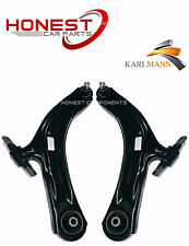 For NISSAN QASHQAI 07-11 FRONT SUSPENSION LOWER WISHBONE ARMS COMPLETE L/R X2