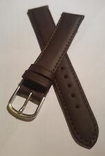 Junghans Uhrenband  / Dunkelbraun  / 18mm (J005) / Watch strap / watchband