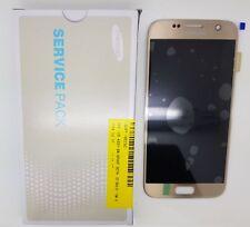 Samsung Galaxy S7 SM-G930 LCD Screen Gold Service Pack GH97-18523C