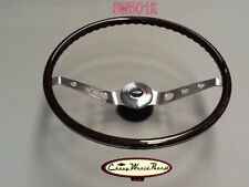 1964 - 1966 CHEVELLE IMPALA TWO SPOKE WALNUT STEERING WHEEL KI