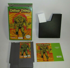 Swamp Thing (Nintendo Entertainment System, 1992) NES Complete CIB Authentic VG