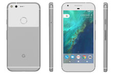 """Google Pixel 5.0"""" Android 7.1 Nougat 128GB Very Silver Unlocked Smartphone VB"""