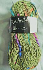 10 pelotes  coton   couleur : kaki - FABRIQUE EN FRANCE