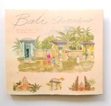 Bali Sketchbook watercolours Graham Byfield Arch'ipelago Press 2008 hardcover