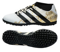 adidas Mens Ace 16.3 PrimeMesh TF Football Trainers White AQ3432 RRP £65