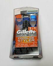 Gillette Fusion Proglide Styler 3 in 1 Trim Shave Edge Face Body Waterproof New