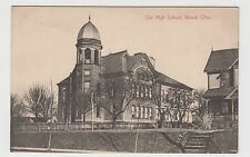 Vintage Postcard Girard, Ohio OUR HIGH SCHOOL ~ Unused