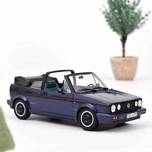 "VW Golf Cabriolet ""Coast"" 1991 - Purple metallic - 1:18 - Norev (188463)"