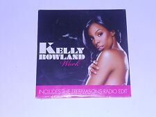 Kelly Rowland - work - cd single (neuf scellé)