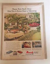 Nash Rambler Country Club Sedan Car Advertisement - 1951