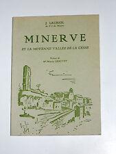 MINERVE et la moyenne vallée de la Cesse Hérault Le Causse Les canyons