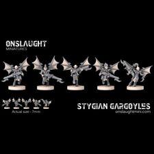 Onslaught Miniatures - Stygian Gargoyles - 6mm