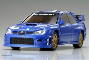1/43 Kyosho Dnano karosserie SUBARU IMPREZA WRC 2006 blau NEU&OVP