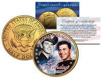 RONALD REAGAN *100th Birthday* 1911-2011 JFK Half Dollar 24K Gold Plated US Coin