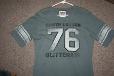 JUICY COUTURE  sports  t shirt SOUTH LONDON  Glitterati LGBT 76 NEW Large 69