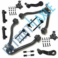 14pc Front Upper Control Arm Ball Joint Idler Pitman Kit for Chevrolet GMC - 2WD