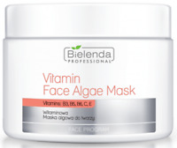 BIELENDA PROFESSIONAL Face Algae Mask with Vitamins B3 B5 B6 C E 190g