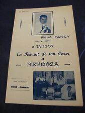 Partition En rêvant de ton coeur Mendoza René Farcy Music Sheet