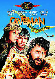 Caveman Dvd Ringo Starr Brand New & Factory Sealed (1981)