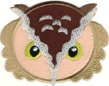 """3.75"""" Night Owl Halloween embroidery patch"""